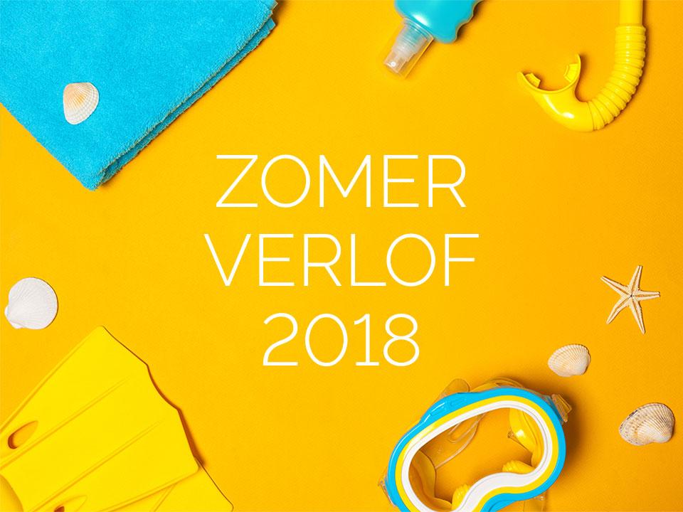 Zomerverlof 2018