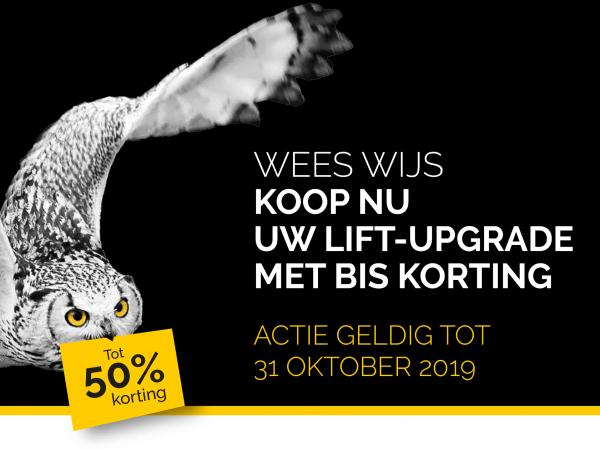Exclusieve BIS Actie! Doe nu uw voordeel op onze huisliften dankzij onze lift-upgrades!